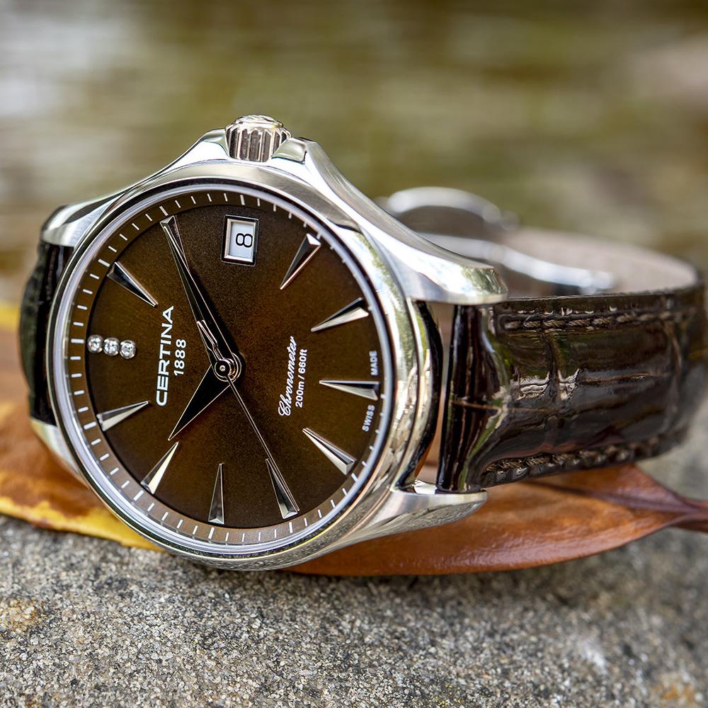 Certina C032.051.16.296.00 damski zegarek DS Action pasek