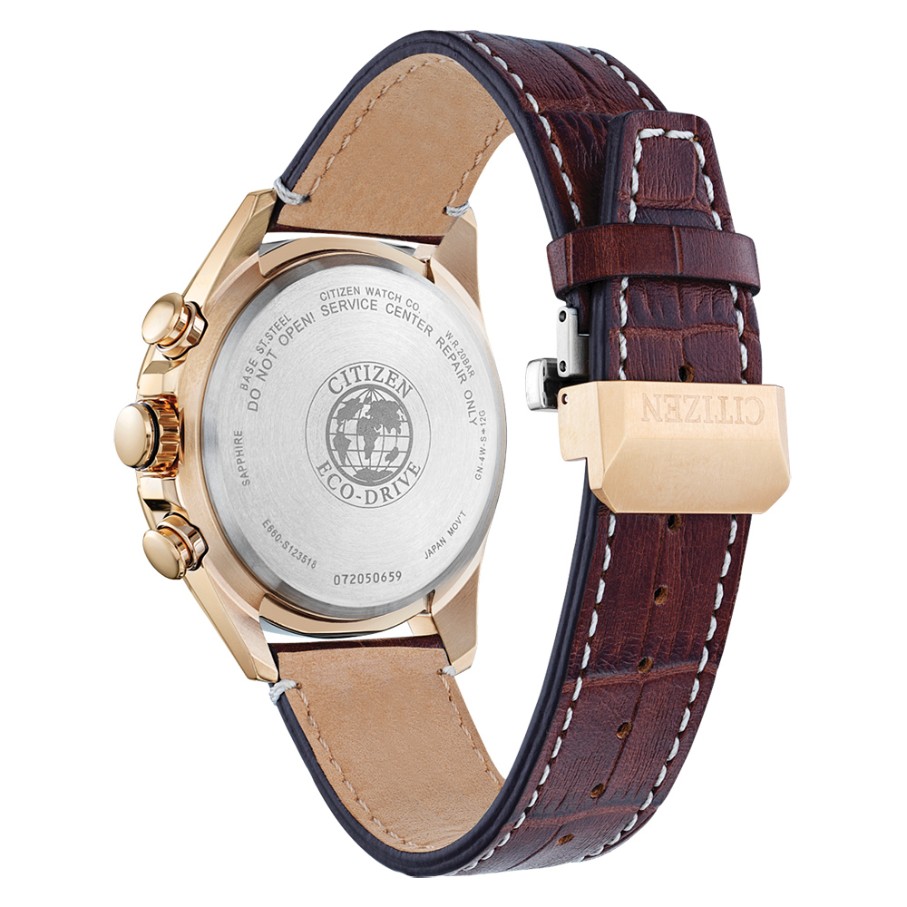 zegarek Citizen CB5919-00X męski z chronograf Ecodrive
