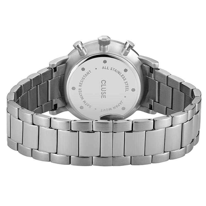zegarek Cluse CW0101502011 kwarcowy męski Aravis Aravis Chrono Steel Silver Dark Blue