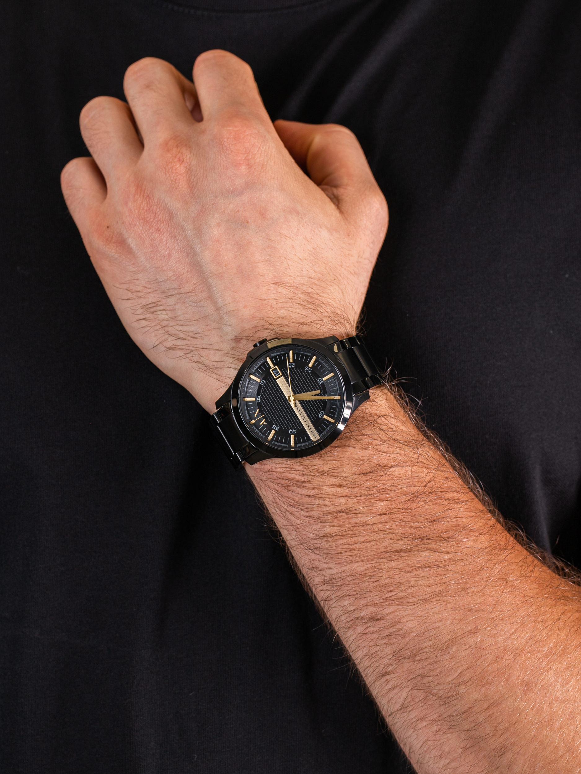 Armani Exchange AX2413 męski zegarek Fashion bransoleta