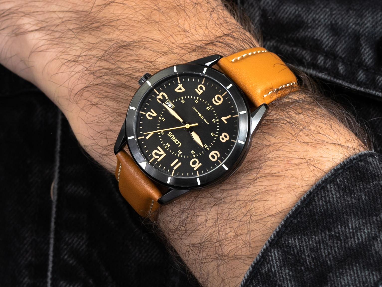 Lorus RH939LX9 zegarek klasyczny Klasyczne