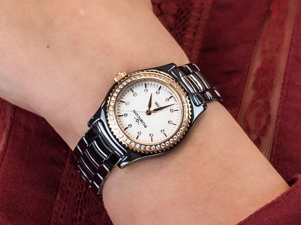 Rubicon RNPD39TISR03BX zegarek klasyczny Bransoleta