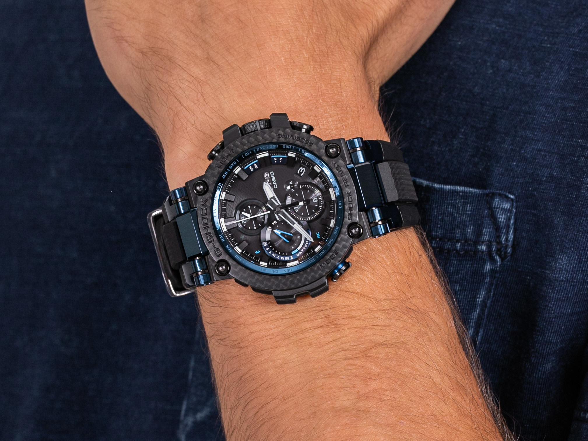 G-Shock MTG-B1000XB-1AER zegarek sportowy G-Shock