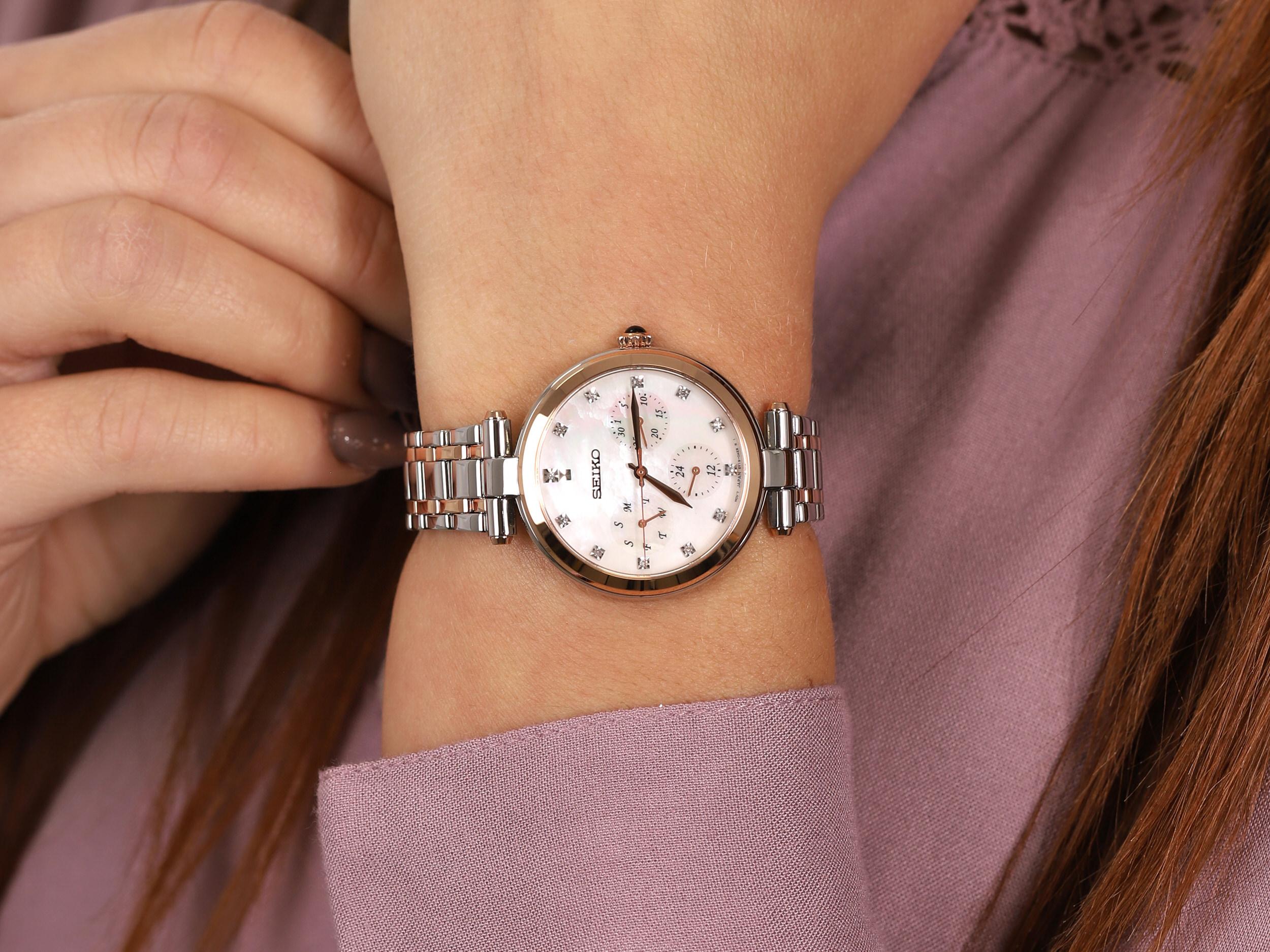 Seiko SKY658P1 zegarek klasyczny Classic