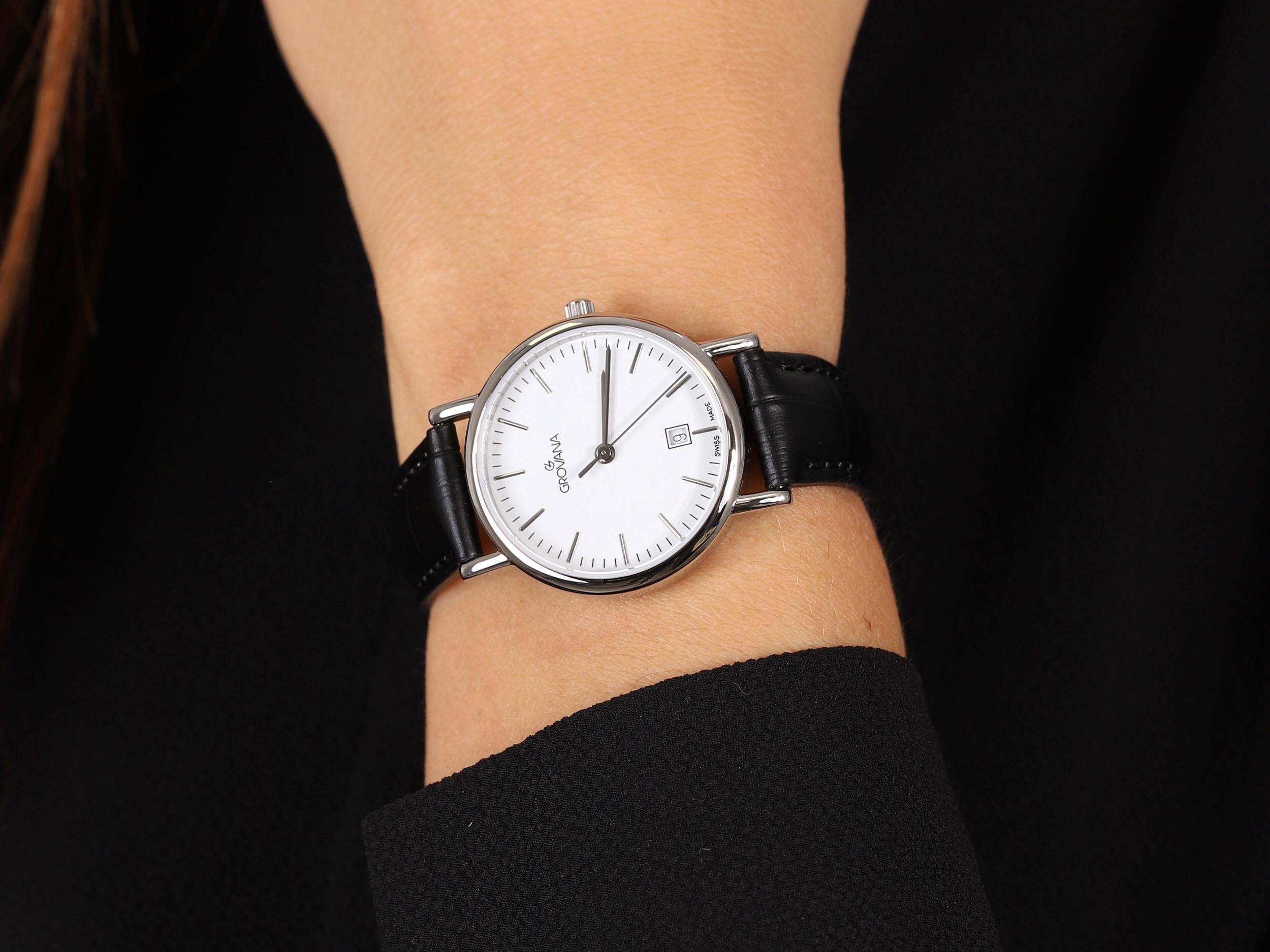 Grovana 3229.1533 zegarek klasyczny Pasek