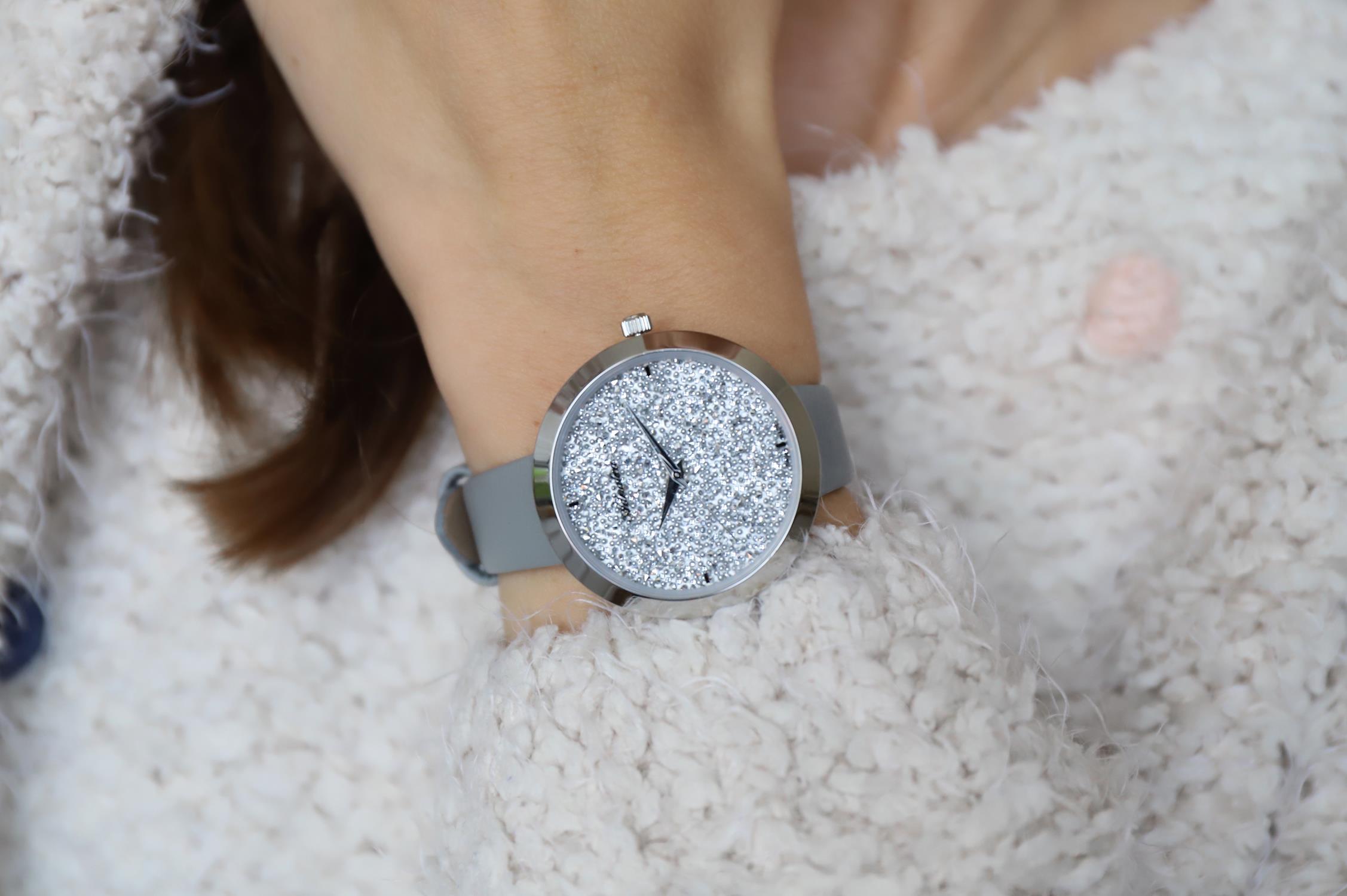 Adriatica A3646.5G13Q zegarek srebrny klasyczny Pasek pasek