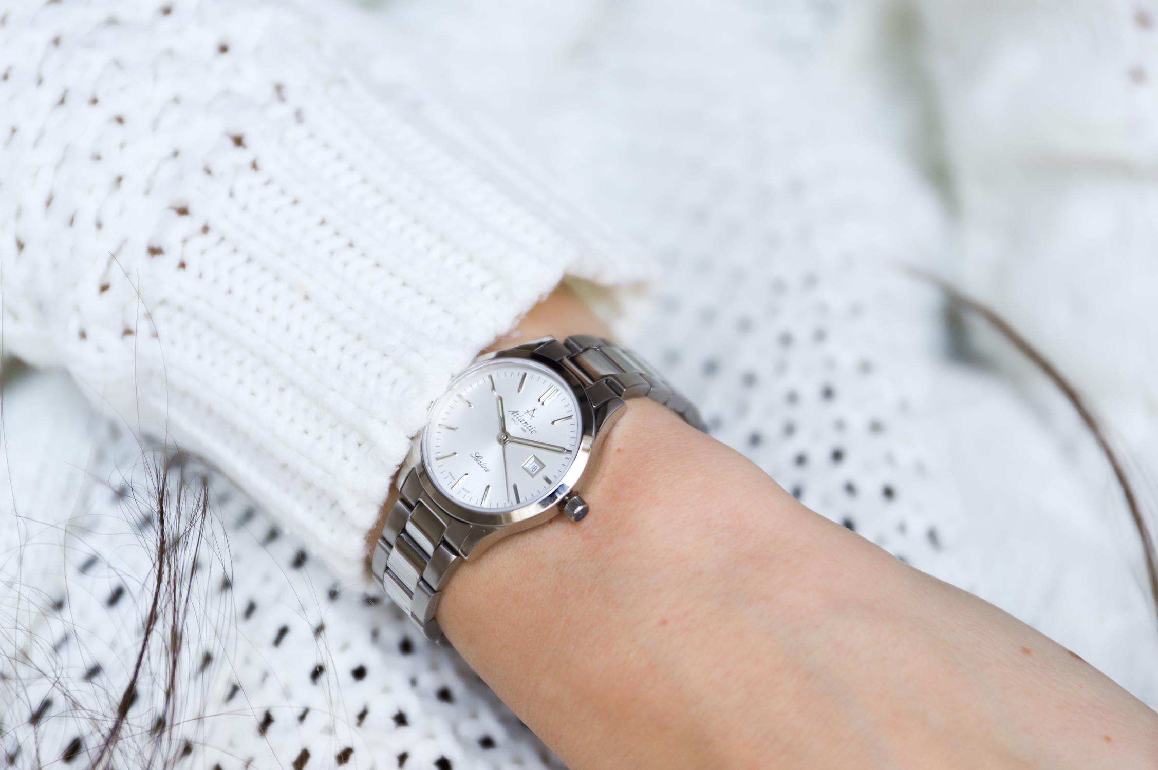zegarek Atlantic 22346.41.21 kwarcowy damski Sealine