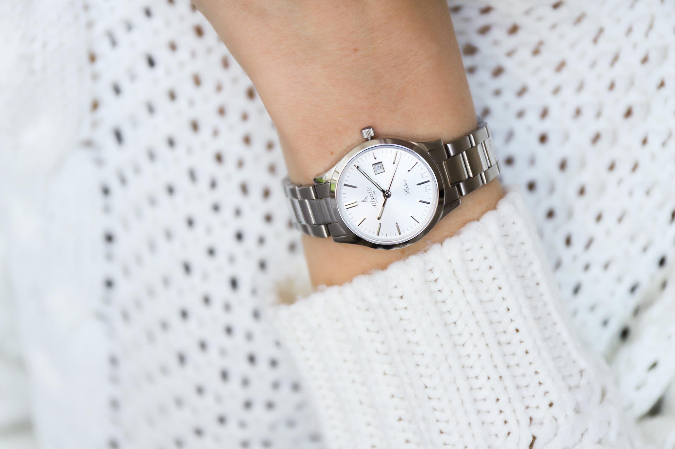 zegarek Atlantic 22346.41.21 srebrny Sealine
