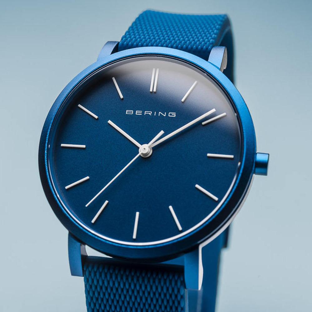 Bering 16934-799 zegarek niebieski klasyczny True Aurora pasek