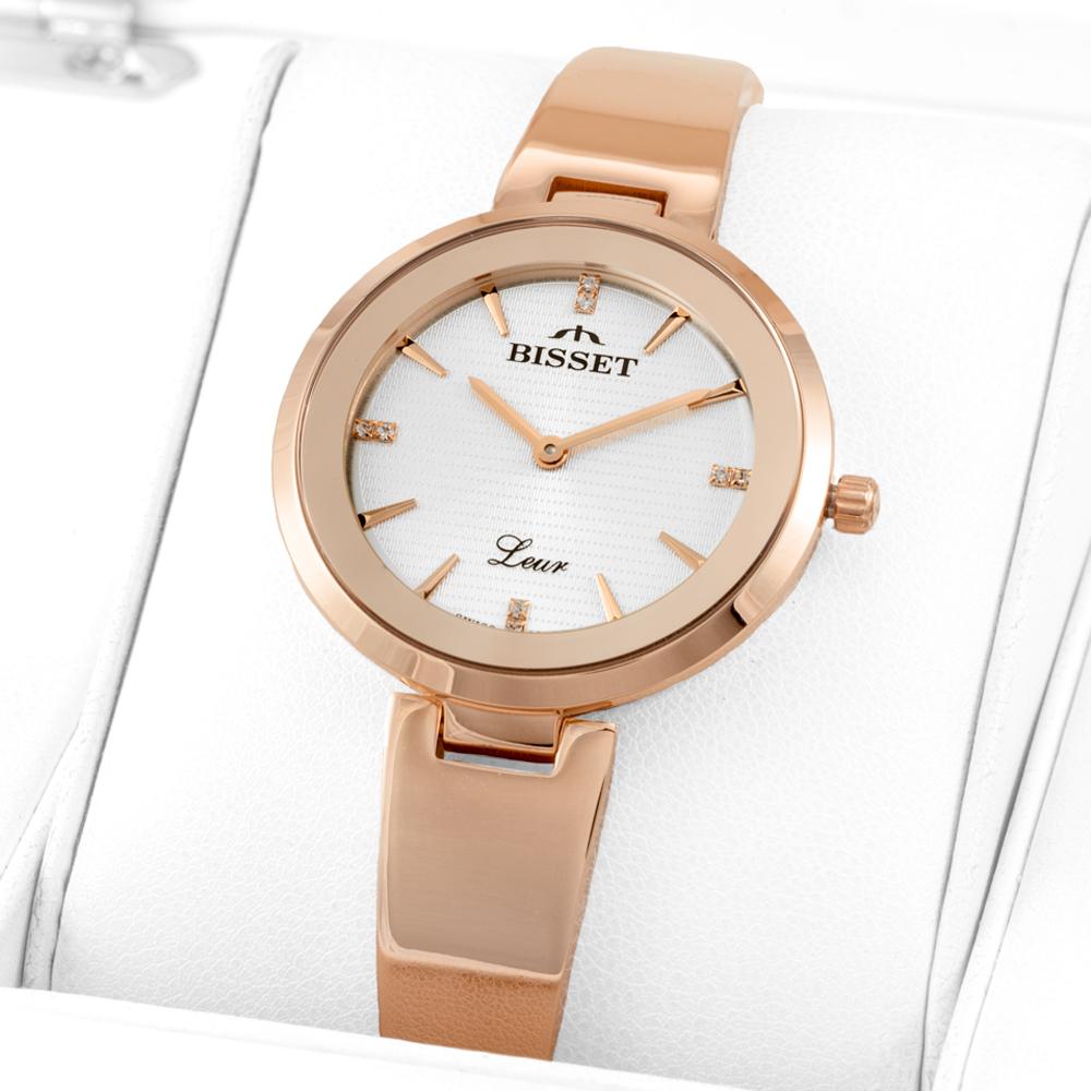 Bisset BSBD32RISX03BX damski zegarek Biżuteryjne bransoleta