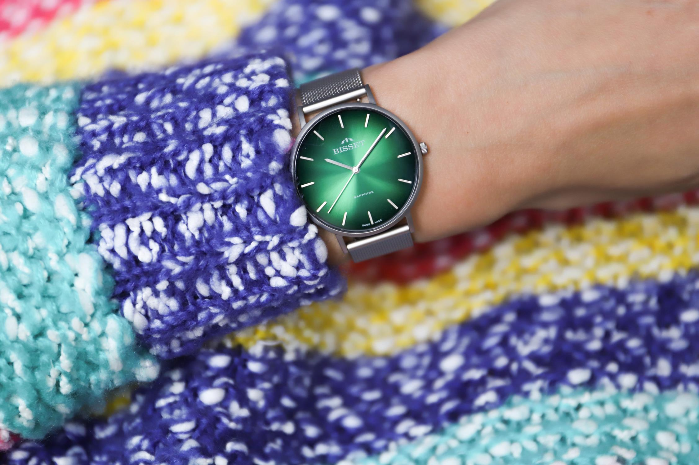 zegarek Bisset BSBF33SINX03BX kwarcowy damski Klasyczne