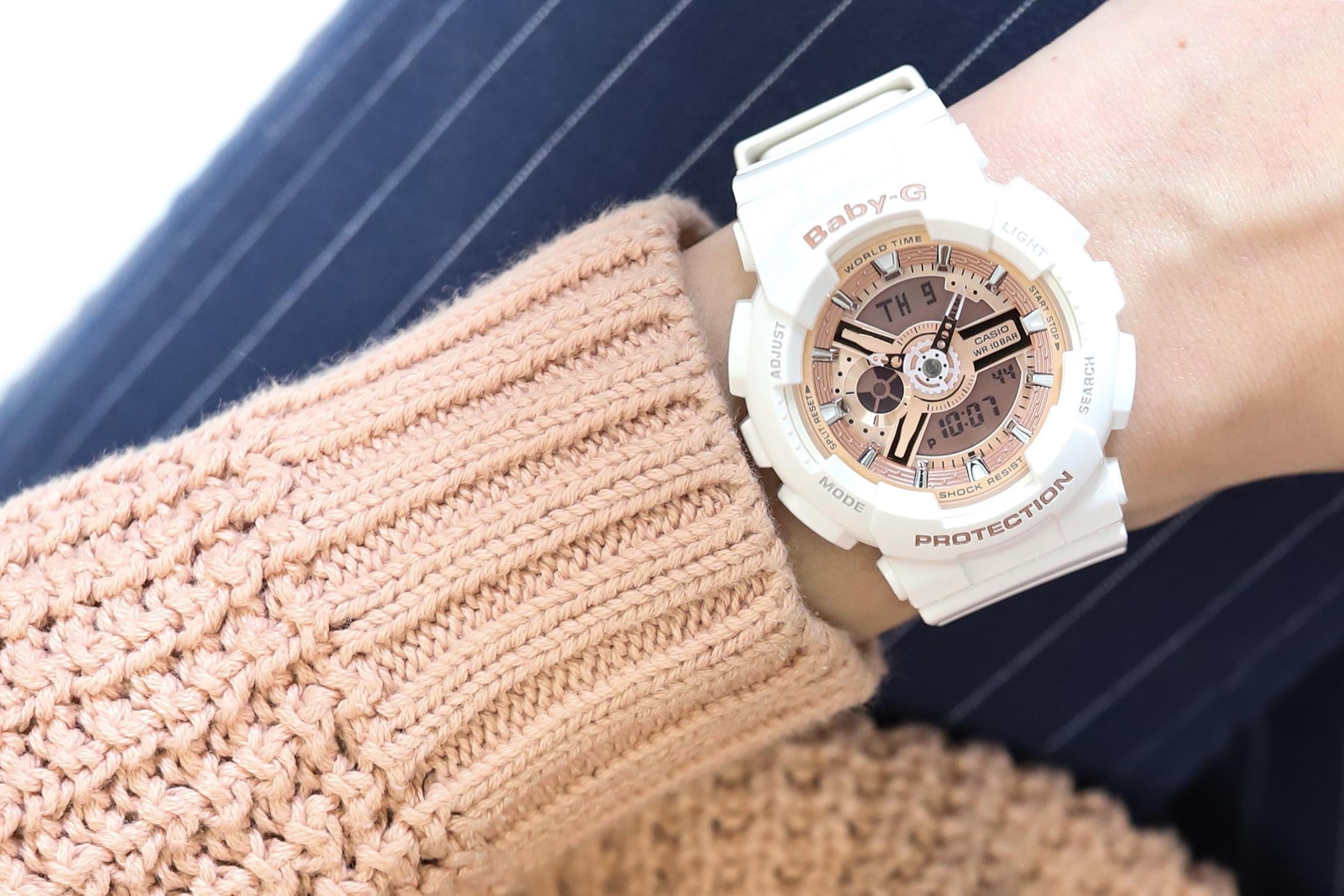 zegarek Casio BA-110-7A1ER kwarcowy damski Baby-G