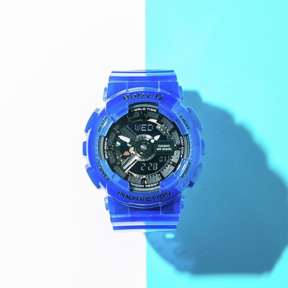 zegarek Casio BA-110CR-2AER niebieski Baby-G
