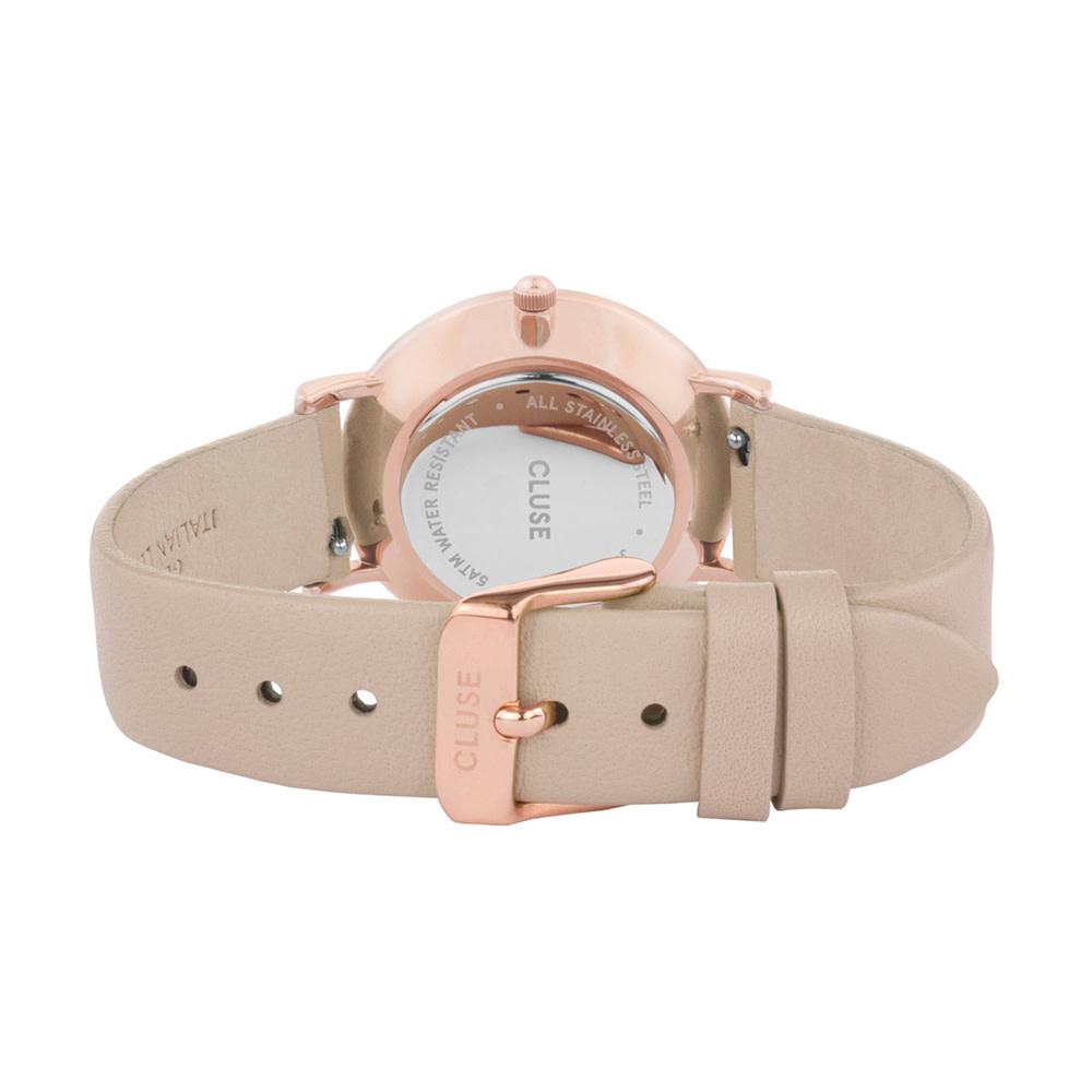 Cluse CL63006 zegarek różowe złoto fashion/modowy Le Couronnement pasek
