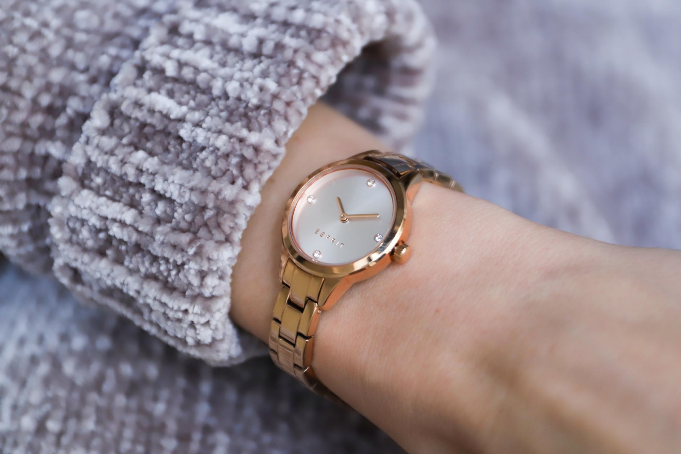 Esprit ES108992002 damski zegarek Damskie bransoleta