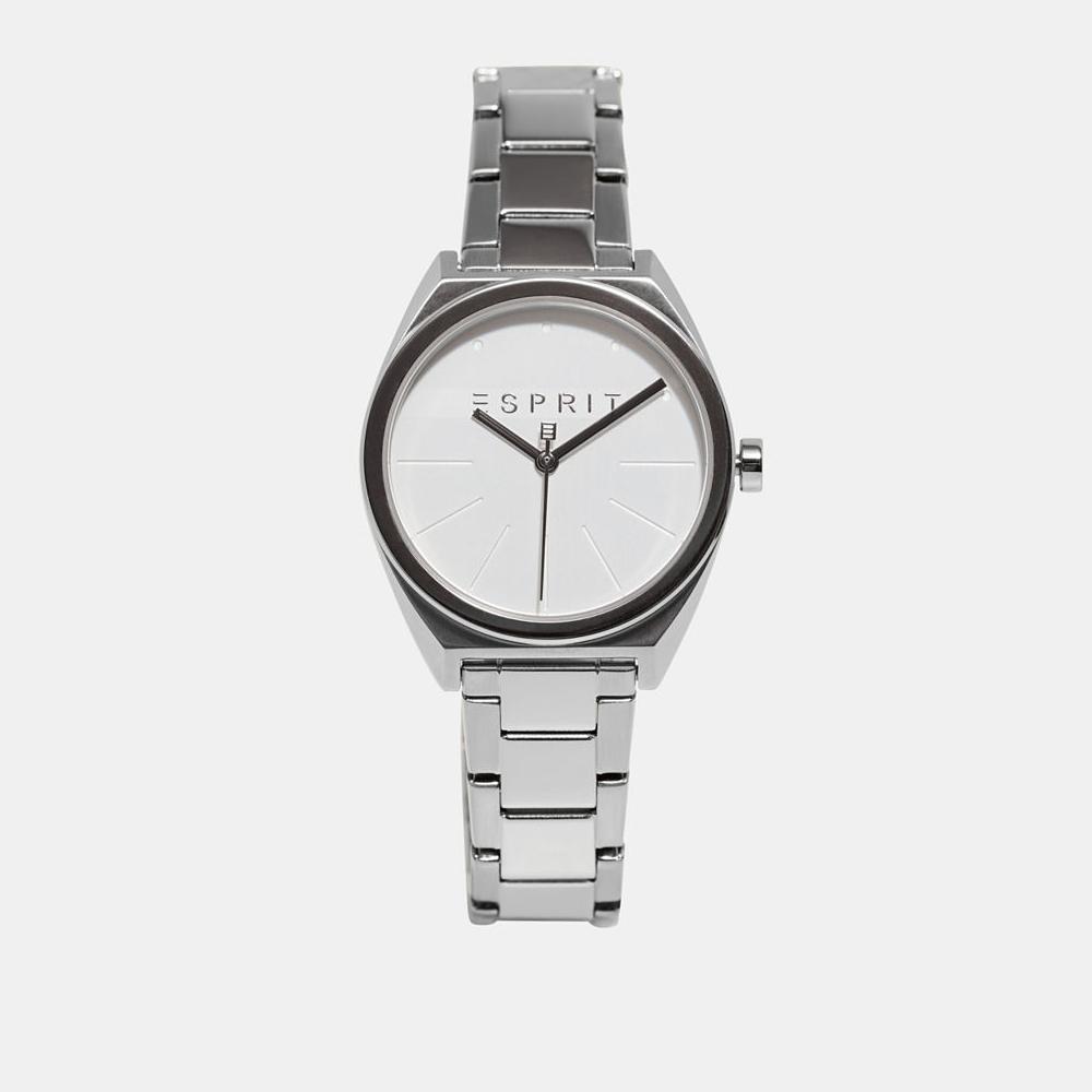 Esprit ES1L056M0045 zegarek srebrny klasyczny Damskie bransoleta
