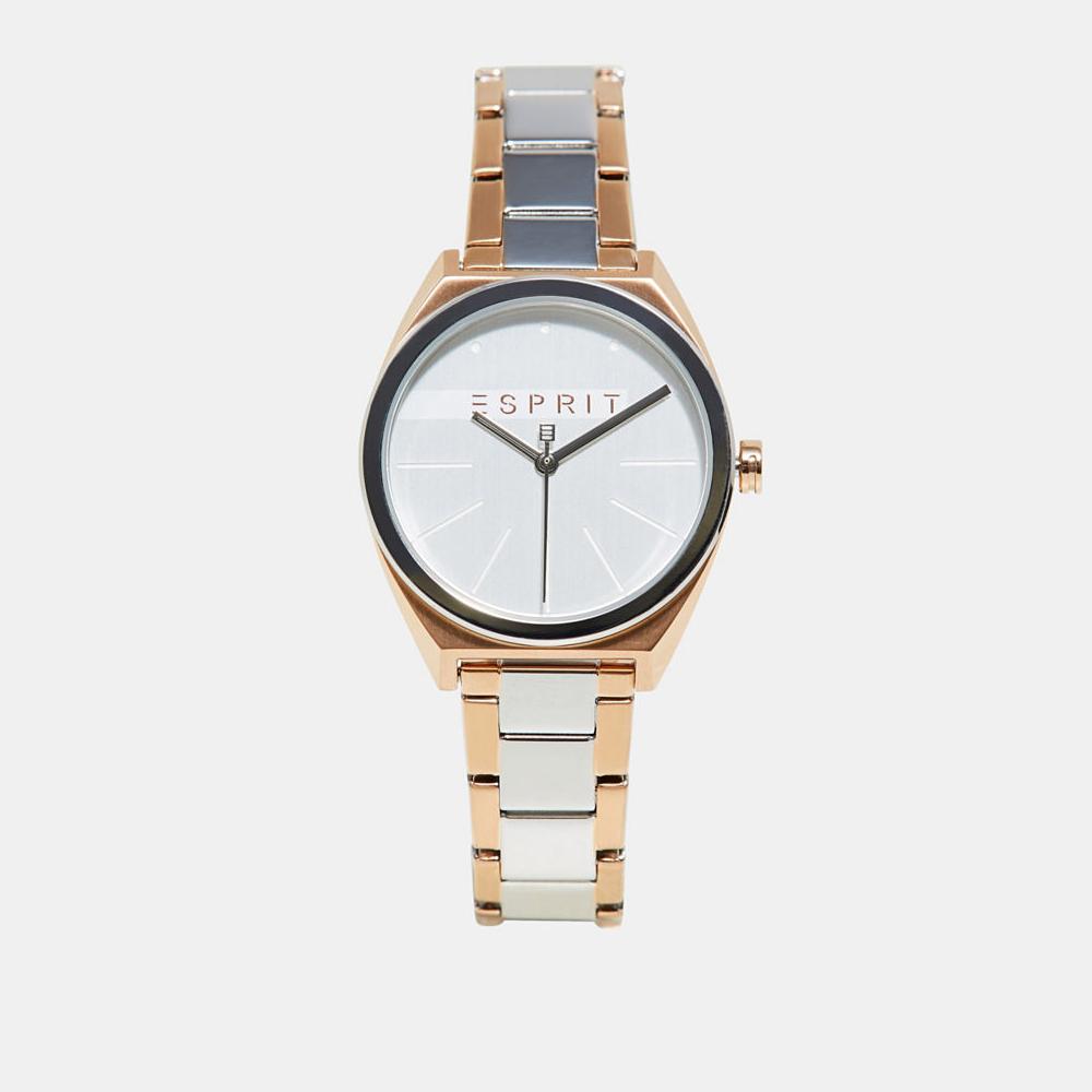 Esprit ES1L056M0085 zegarek srebrny klasyczny Damskie bransoleta