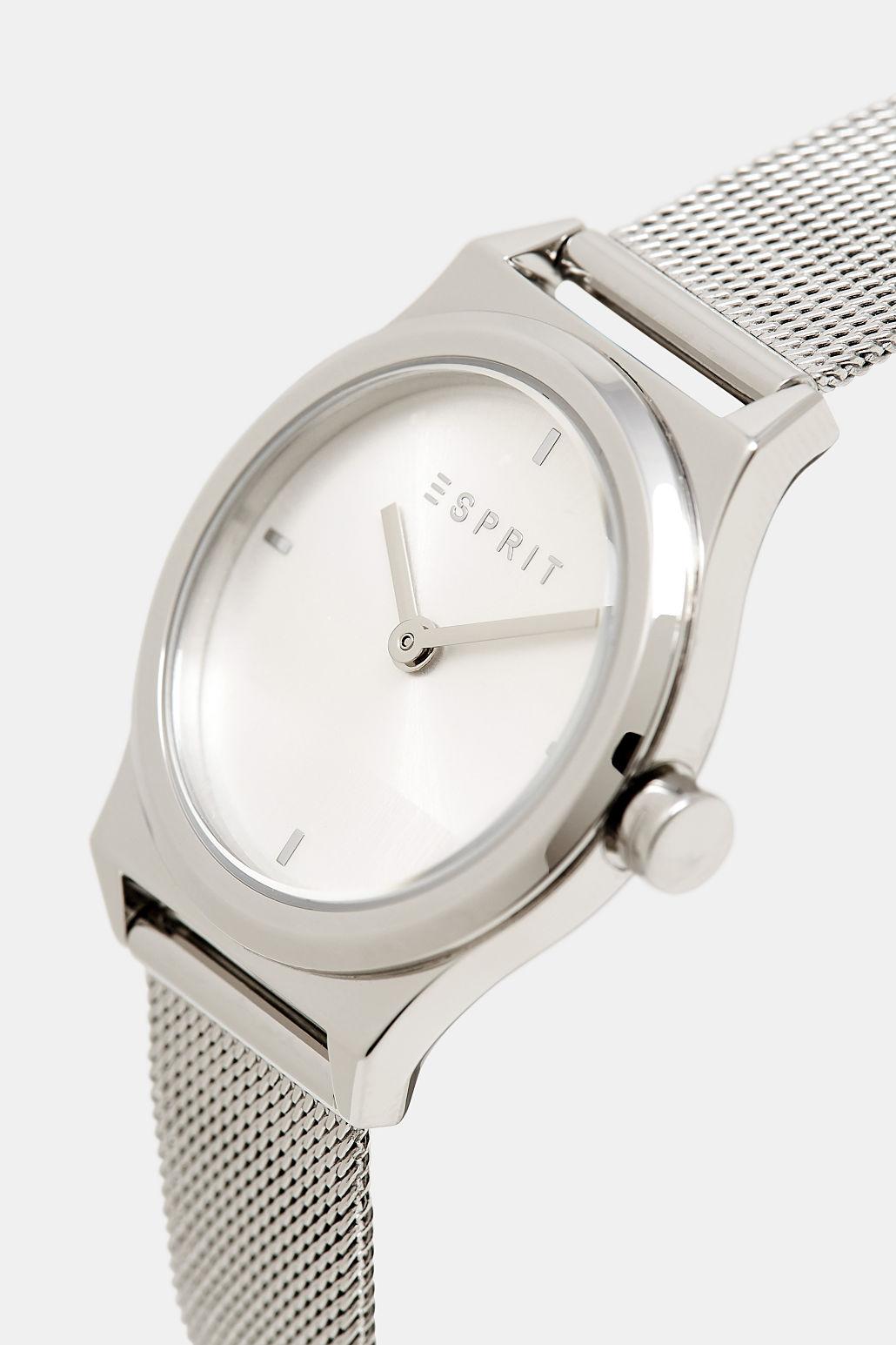 Esprit ES1L090M0045 zegarek srebrny klasyczny Damskie bransoleta