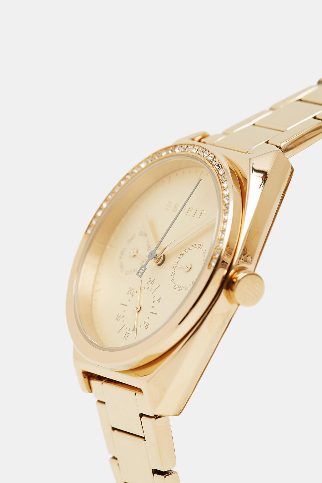 Esprit ES1L099M0065 zegarek złoty klasyczny Damskie bransoleta