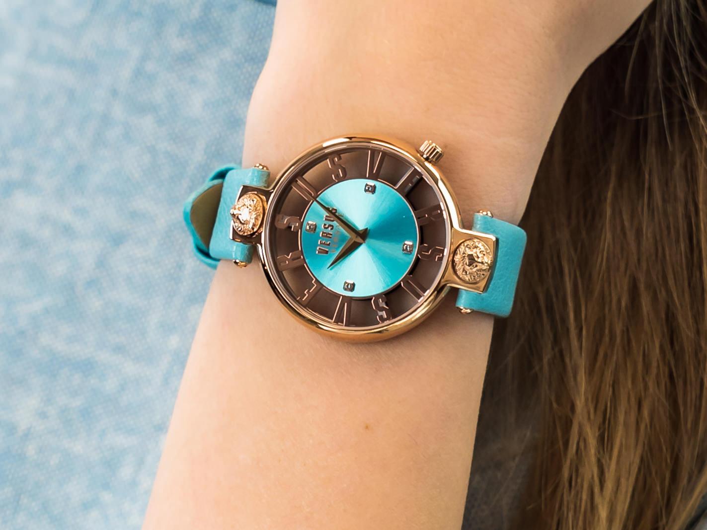 Versus Versace VSP490418 KIRSTENHOF zegarek fashion/modowy Damskie