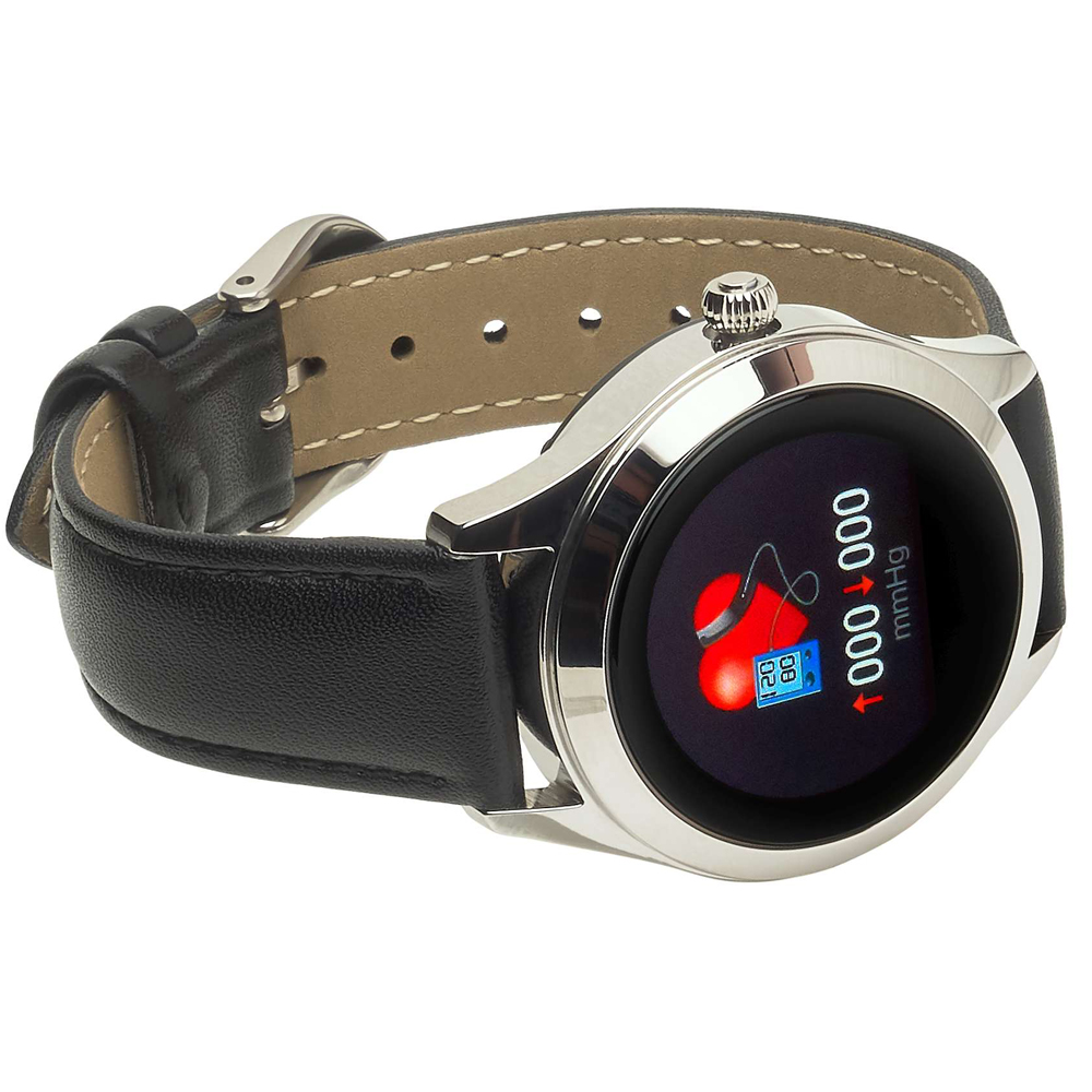 Garett 5903246287240 zegarek srebrny sportowy Damskie pasek