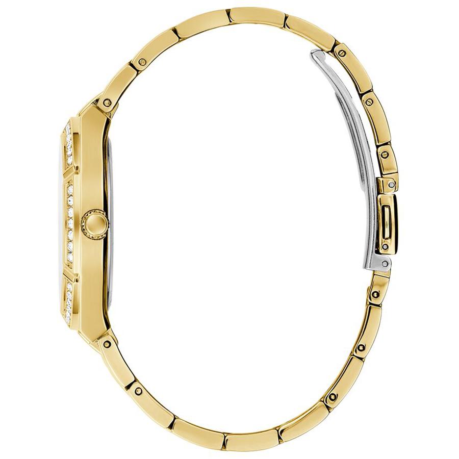 Guess GW0033L2 zegarek złoty klasyczny Bransoleta bransoleta