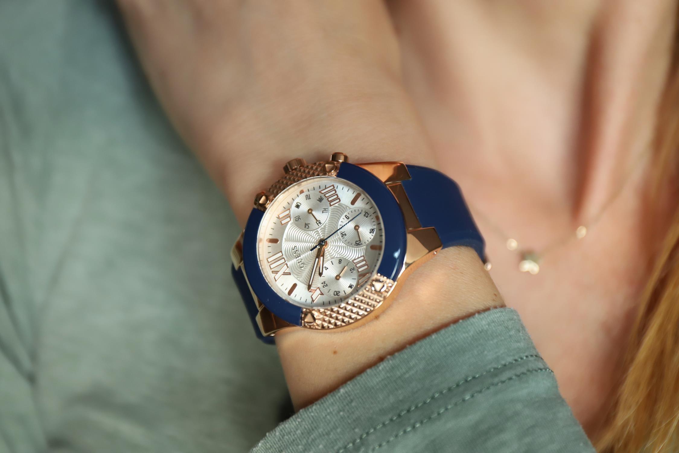 Guess W0958L3 zegarek damski Pasek