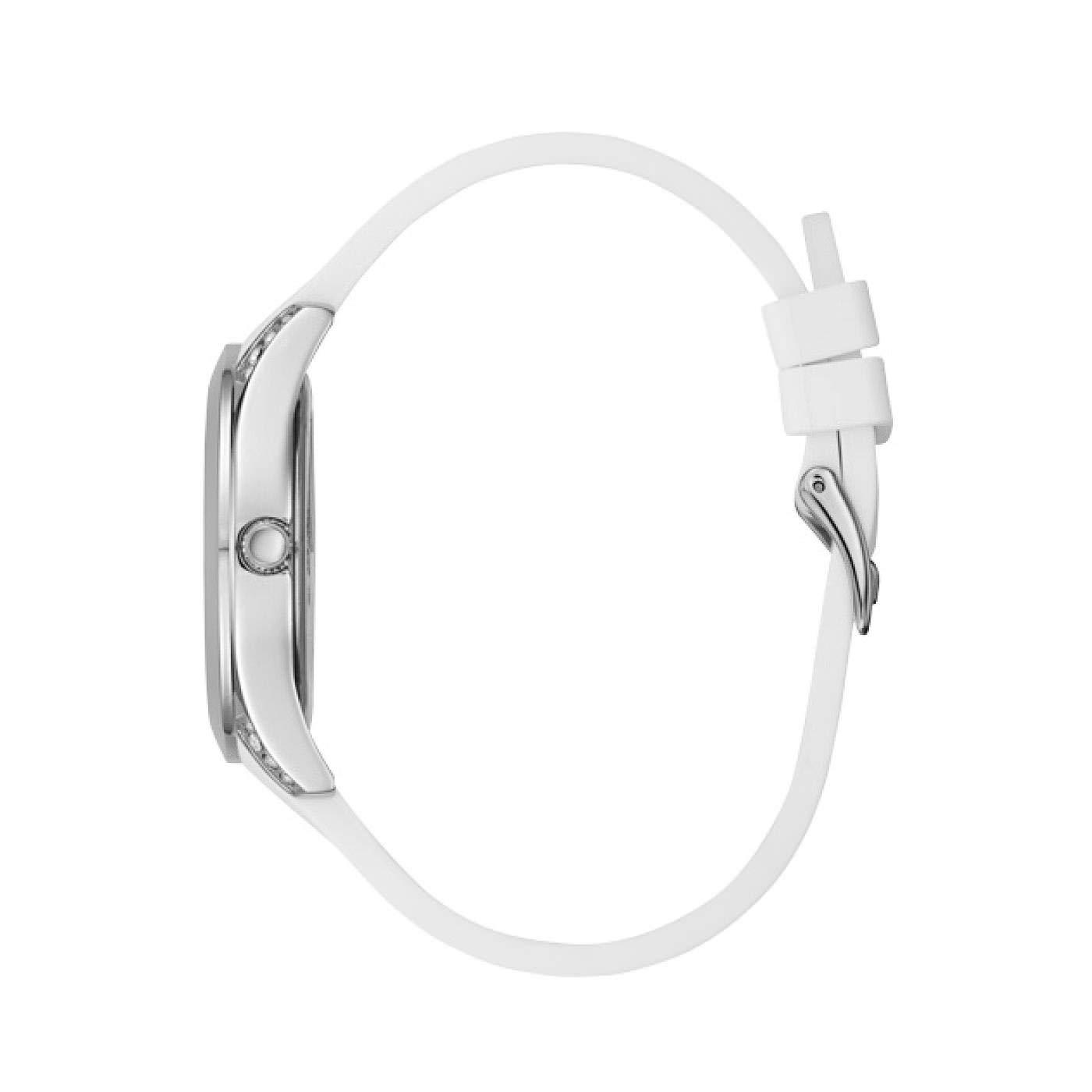 Guess W1059L1 zegarek srebrny klasyczny Pasek pasek