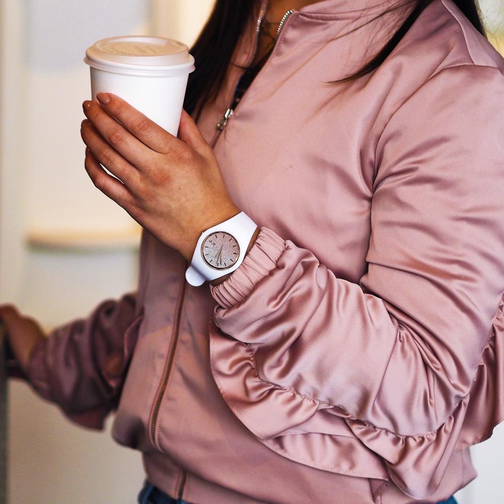 ICE Watch ICE.013431 zegarek damski ICE-Lo biały