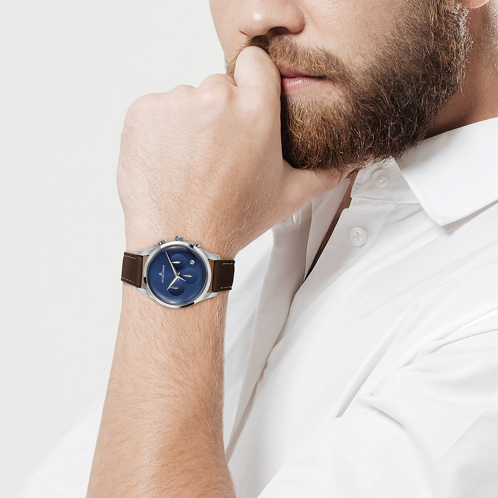 Jacques Lemans 1-2067C zegarek klasyczny Retro Classic