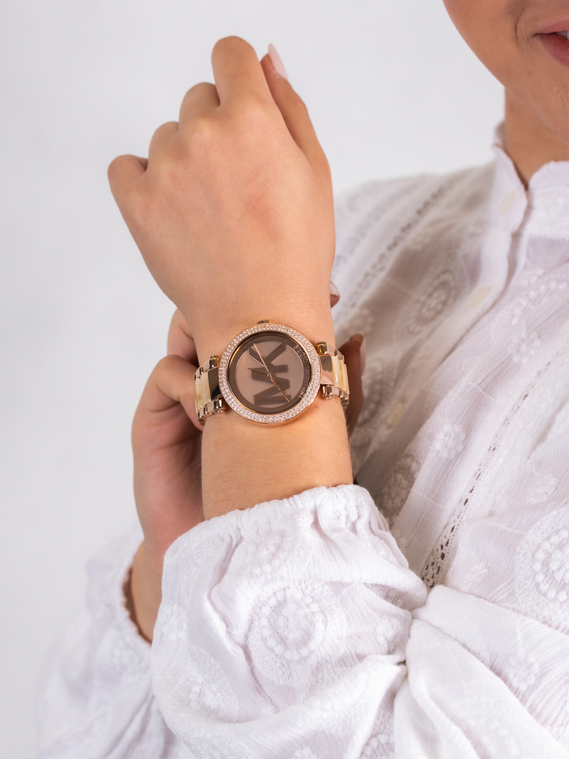 Michael Kors MK6530 damski zegarek Parker bransoleta