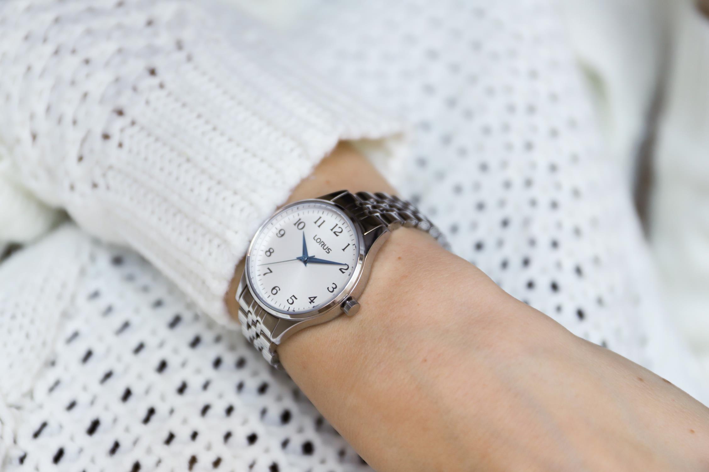 Lorus RG217PX9 damski zegarek Klasyczne bransoleta