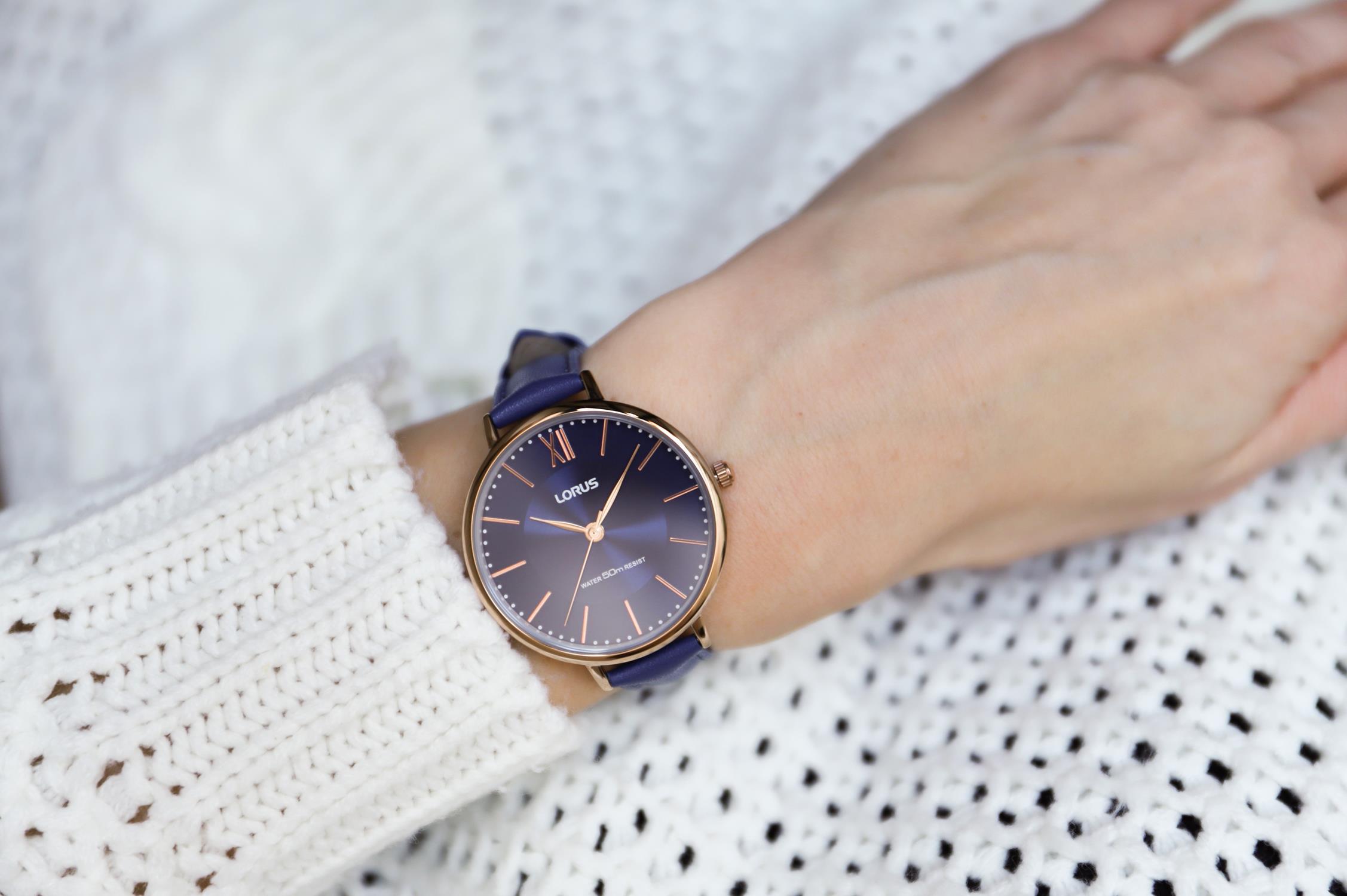 Lorus RG276LX8 Klasyczne klasyczny zegarek różowe złoto