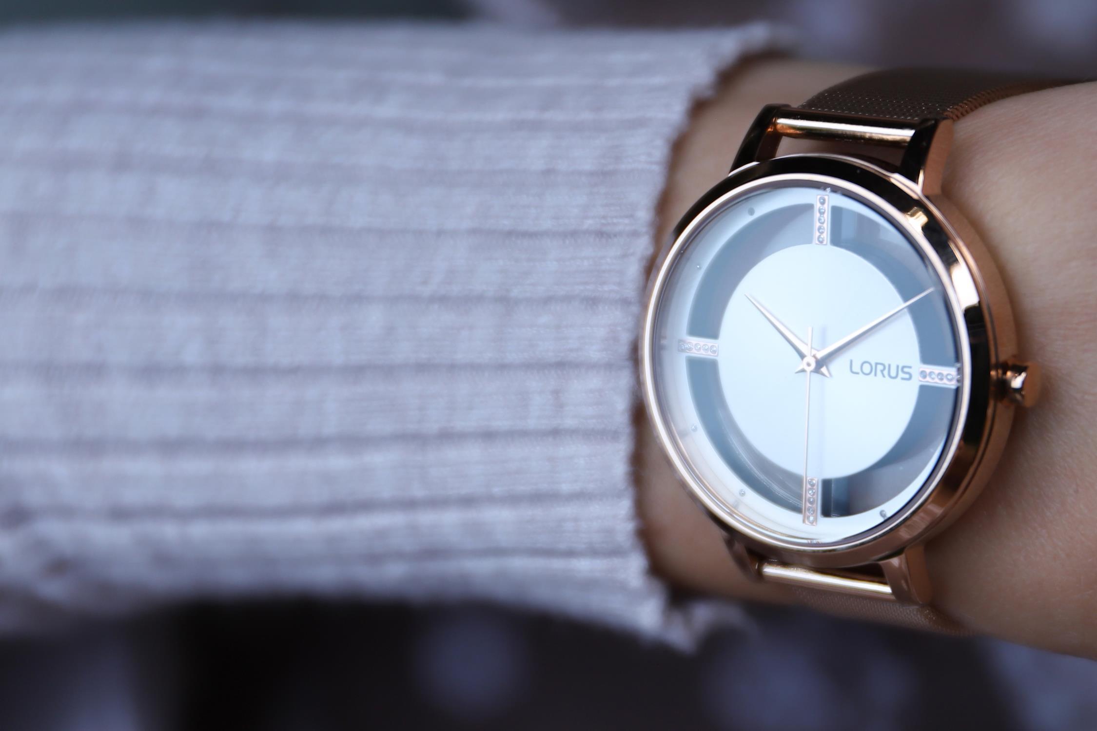 zegarek Lorus RG288PX9 kwarcowy damski Klasyczne