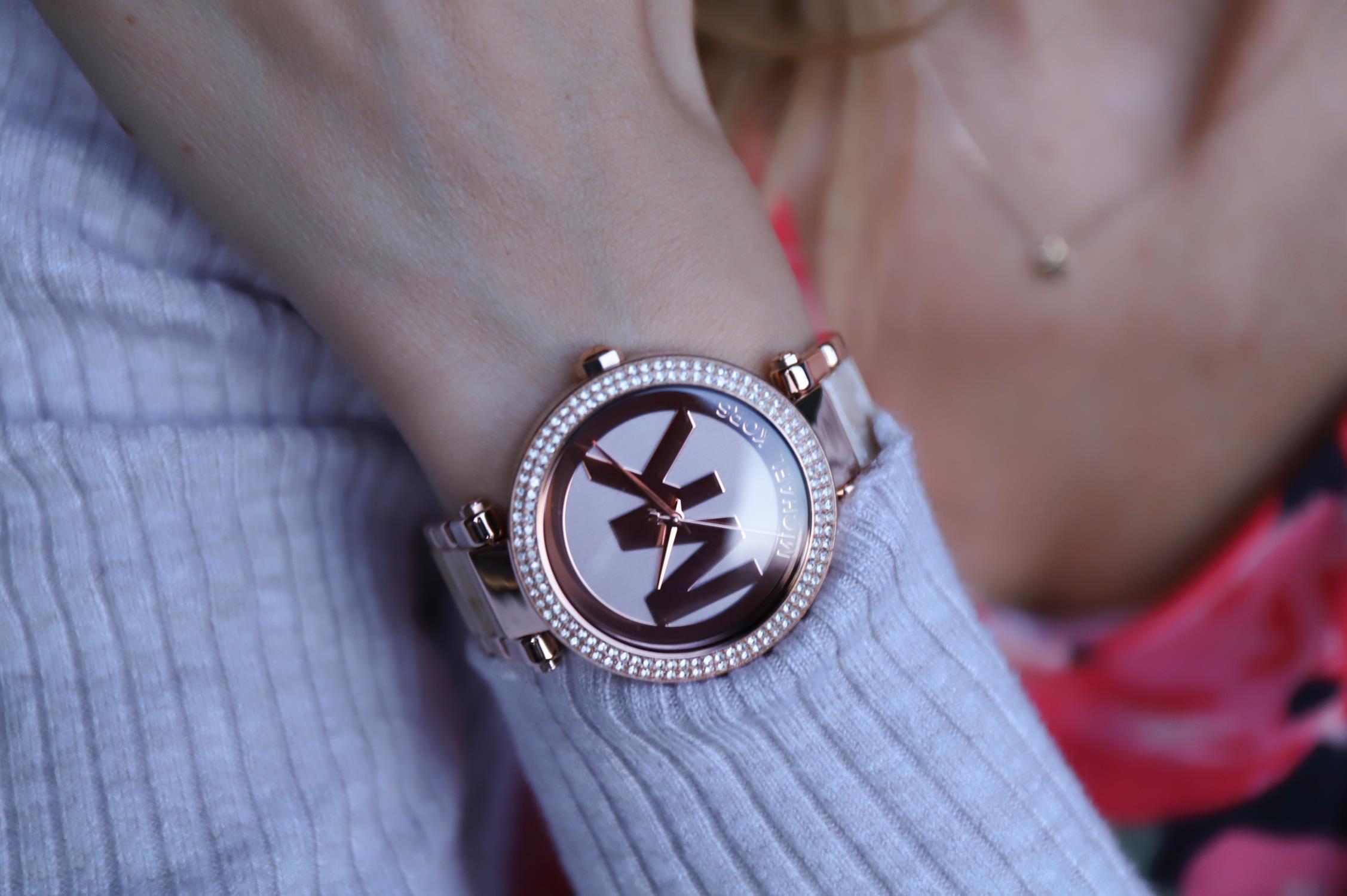 Michael Kors MK6530 Parker PARKER zegarek damski klasyczny mineralne