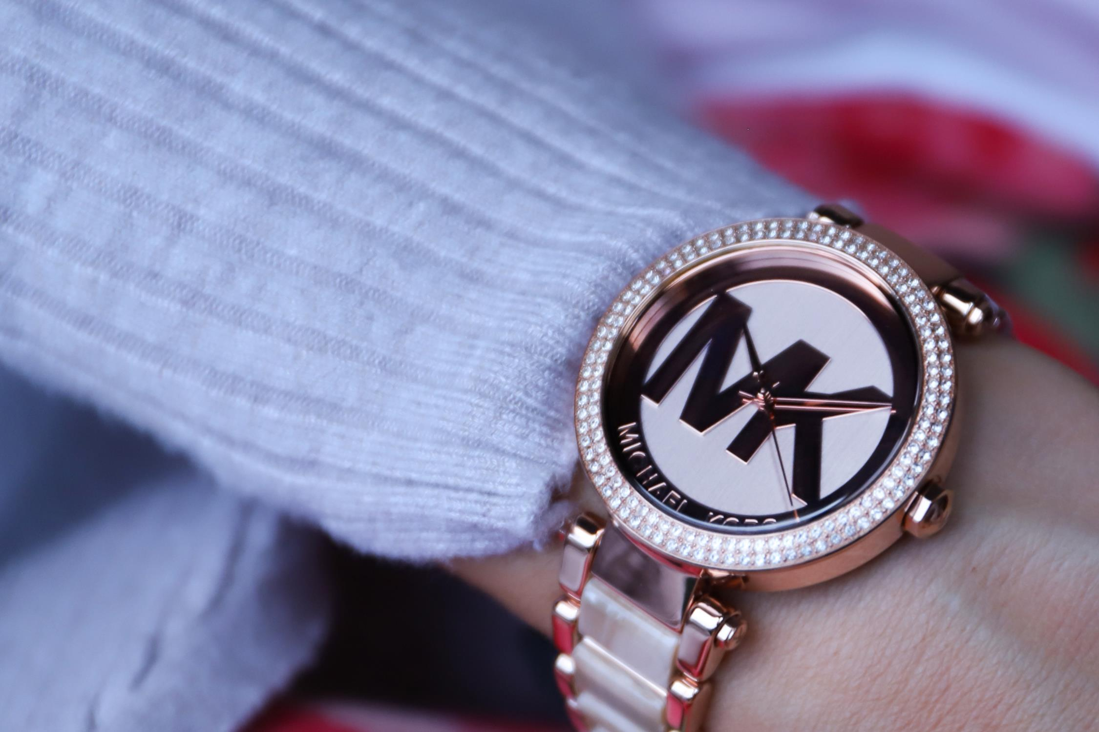zegarek Michael Kors MK6530 różowe złoto Parker