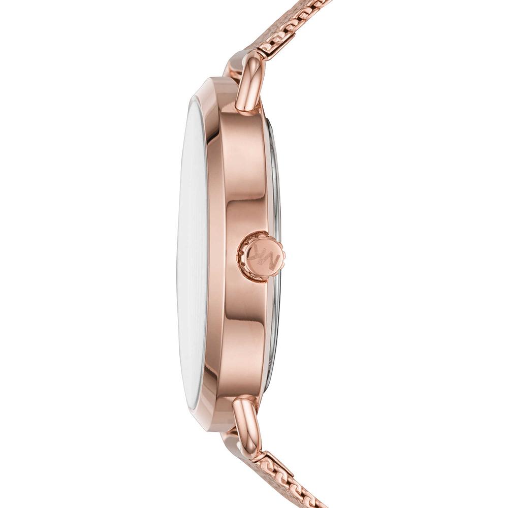 Michael Kors MK3845 zegarek różowe złoto fashion/modowy Portia bransoleta