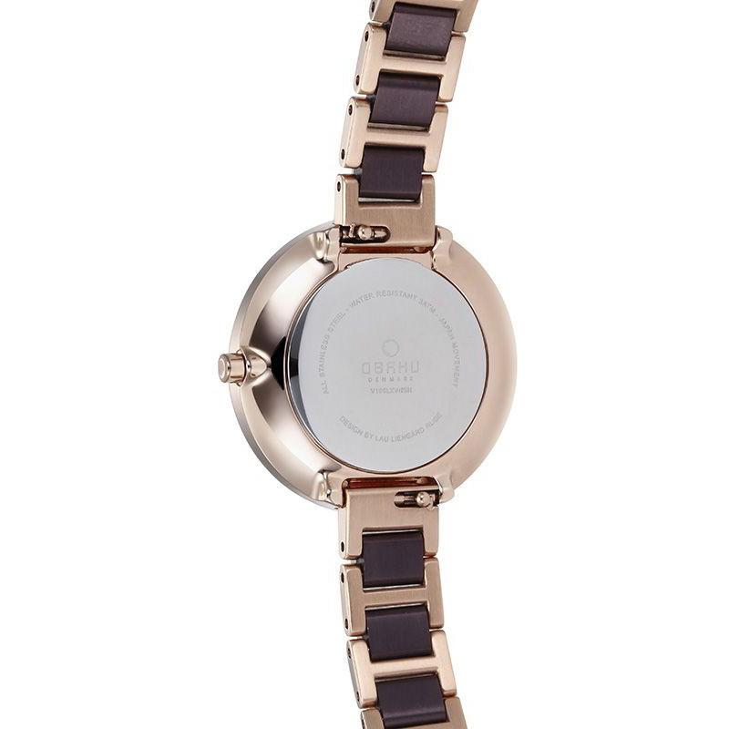 Obaku Denmark V195LXVNSN damski zegarek Slim bransoleta