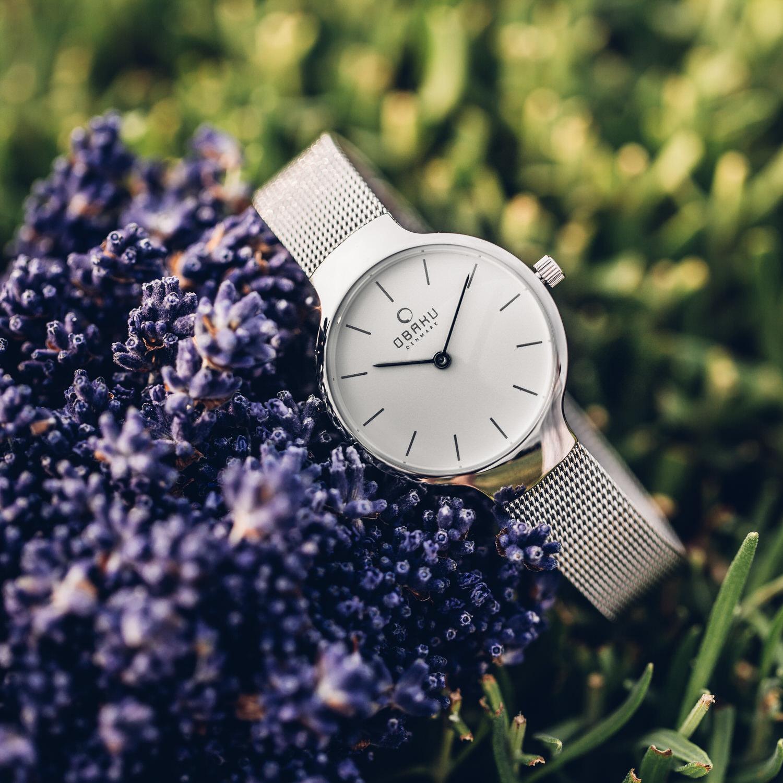 Obaku Denmark V223LXCIMC damski zegarek Slim bransoleta