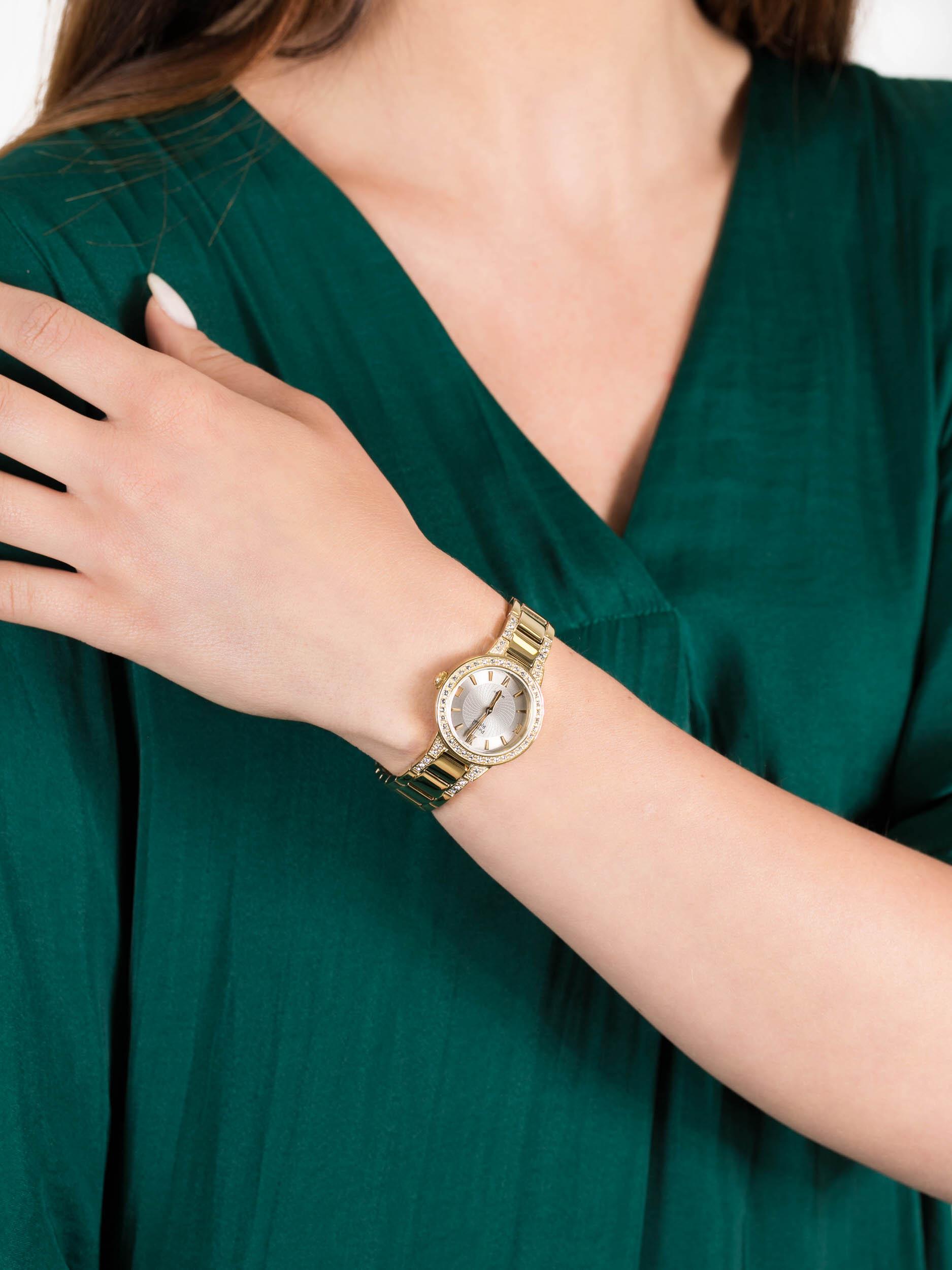 Pierre Ricaud P21074.1167QZ damski zegarek Bransoleta bransoleta