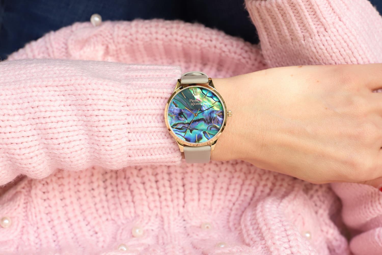 Pierre Ricaud P22045.1G6AQ zegarek złoty klasyczny Pasek pasek