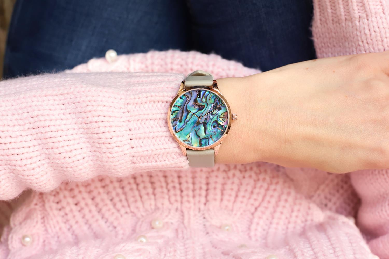 Pierre Ricaud P22045.9G6AQ zegarek różowe złoto klasyczny Pasek pasek