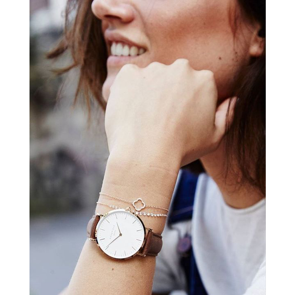 Rosefield BWBRR-B3 zegarek damski klasyczny Bowery pasek