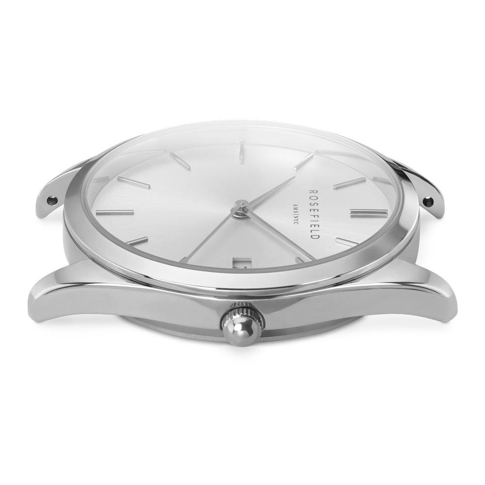 Rosefield ACSS-A04 zegarek srebrny fashion/modowy The Ace bransoleta