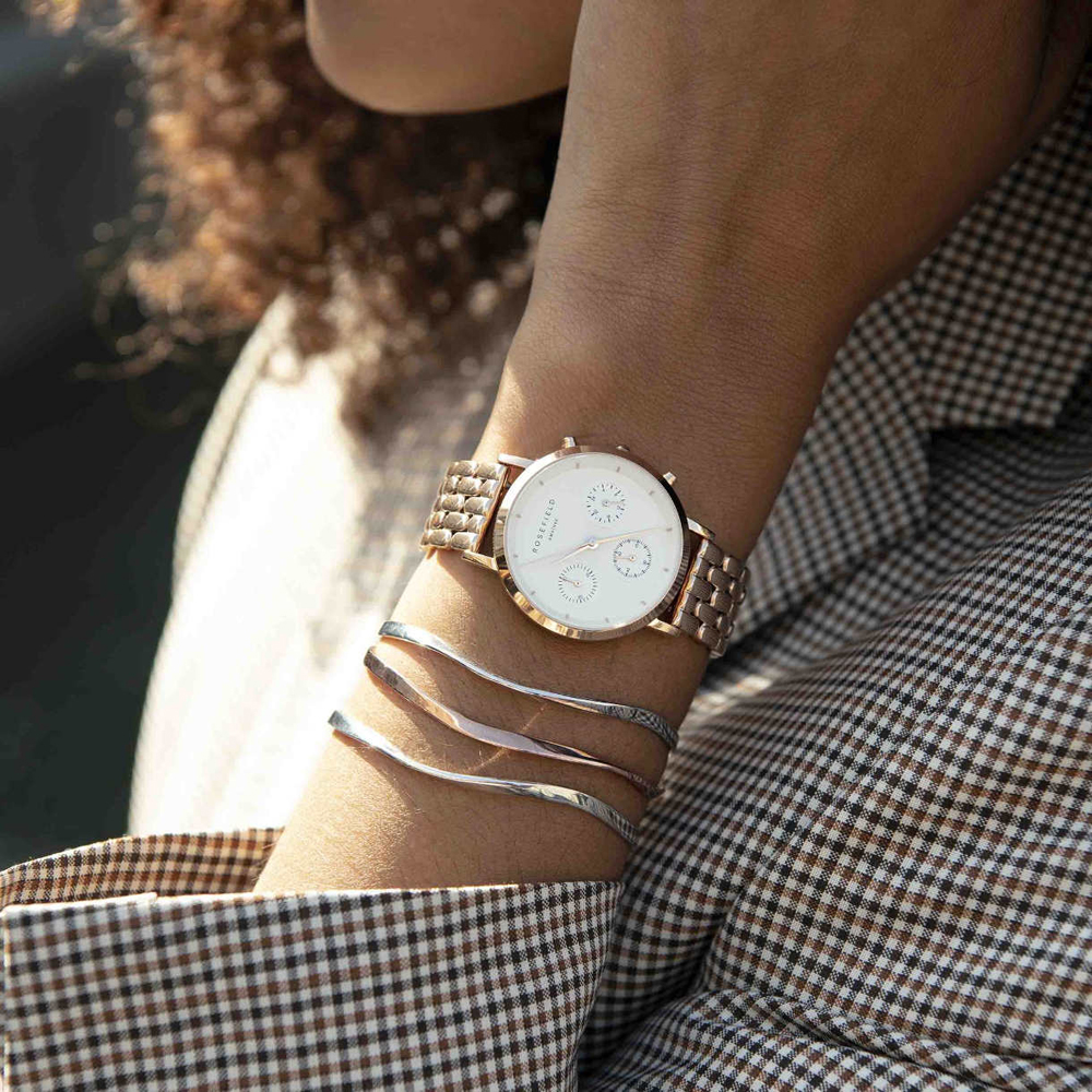 zegarek Rosefield NWR-N91 The Gabby damski z chronograf The Gabby