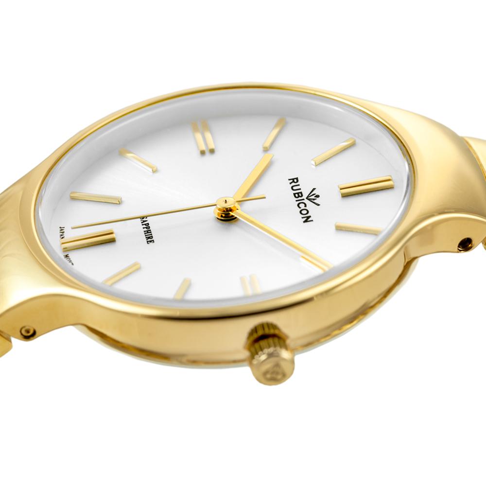 Rubicon RNBE31GISX03BX zegarek złoty klasyczny Bransoleta bransoleta