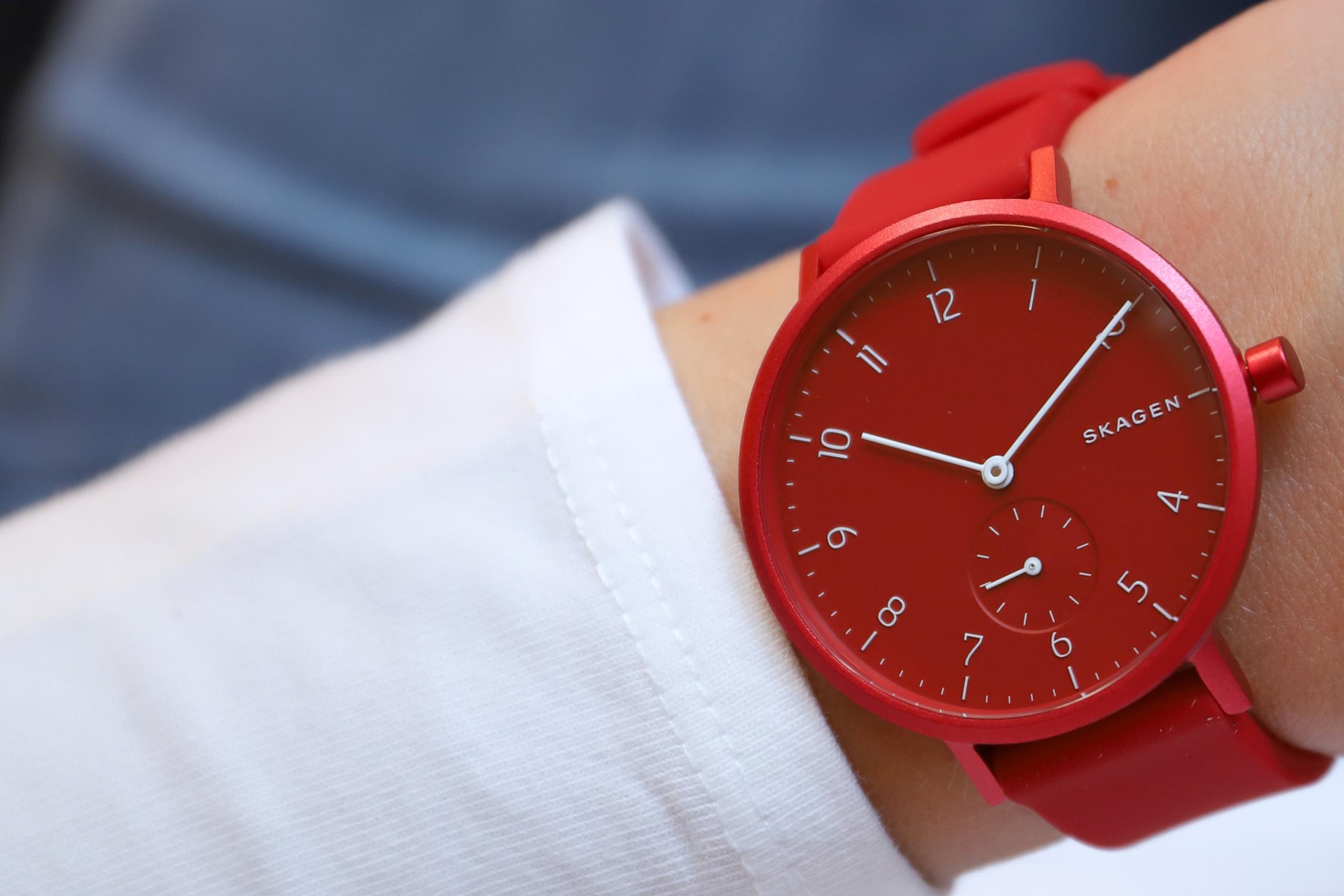 Skagen SKW2765 damski zegarek Aaren pasek