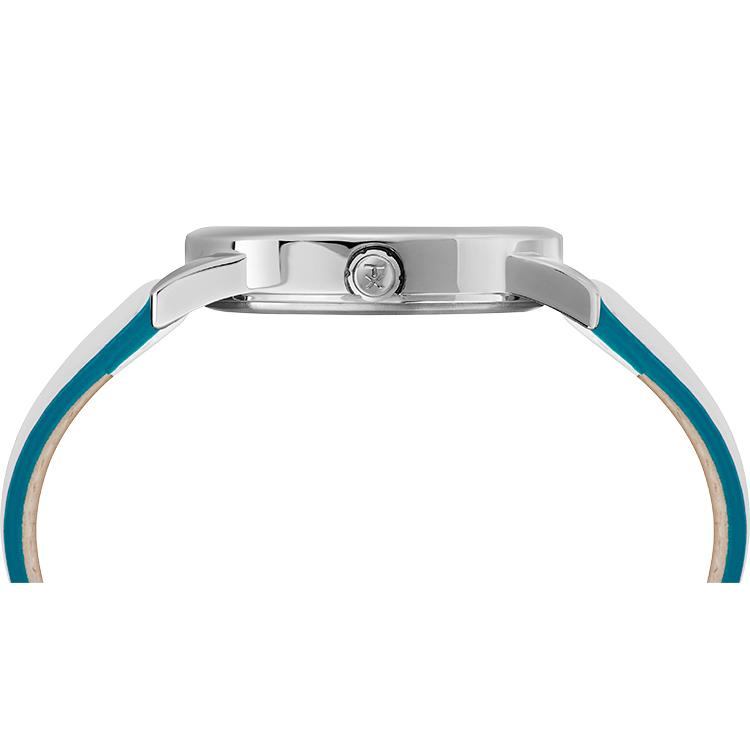 Timex TW2T28400 zegarek srebrny fashion/modowy Easy Reader pasek