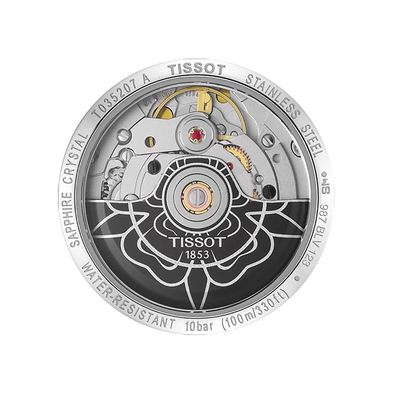 Tissot T035.207.16.061.00 damski zegarek Couturier pasek