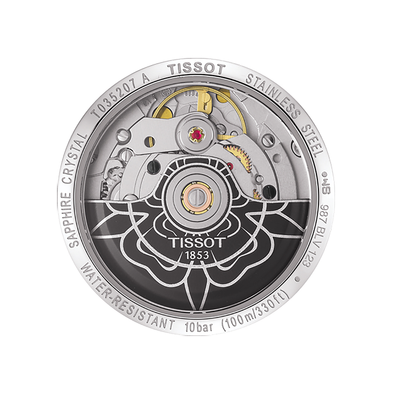 Tissot T035.207.16.116.00 damski zegarek Couturier pasek